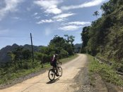 vietnam road cycling holiday